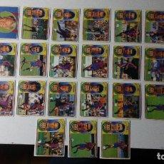 Cromos de Fútbol: DE LA PEÑA BARCELONA LIGA ESTE 96 97 1996 1997 SIN PEGAR NUNCA PEGADO PANINI EQUIPO. Lote 128494360