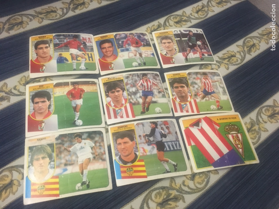 ESTE 91 92 1991 1992 VALENCIA NANDO DESPEGADO (Coleccionismo Deportivo - Álbumes y Cromos de Deportes - Cromos de Fútbol)