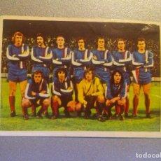 Cromos de Fútbol: EDITORIAL FHER 1975 1976 - 75 76 - GWARDIA WARSAW (VARSOVIA) - POLONIA - 33. Lote 127329759