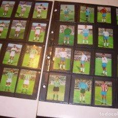 Cromos de Fútbol: CROMOS FHER.....61 UNIDADES..NUEVOS SIN HABER SIDO PEGADOS.AÑOS 64 - 66 - 67.. Lote 127659235