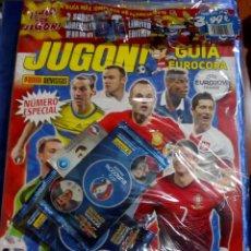 Cromos de Fútbol: REVISTA JUGON GUIA EUROCOPA 2016. Lote 127867115