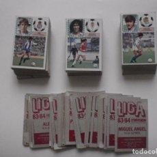 Cromos de Fútbol: LOTE 184 CROMOS DE FUTBOL DIFERENTES Y DESPEGADOS 1983-84. EDICIONES ESTE.. Lote 127875107