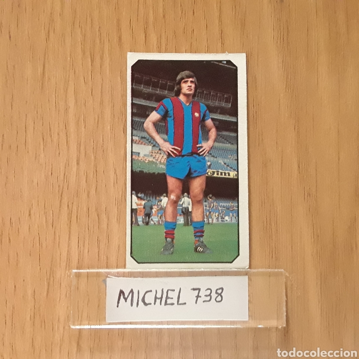 Este liga 77/78...Heredia...Barcelona...Nunca pegado...Sin pegar... segunda mano