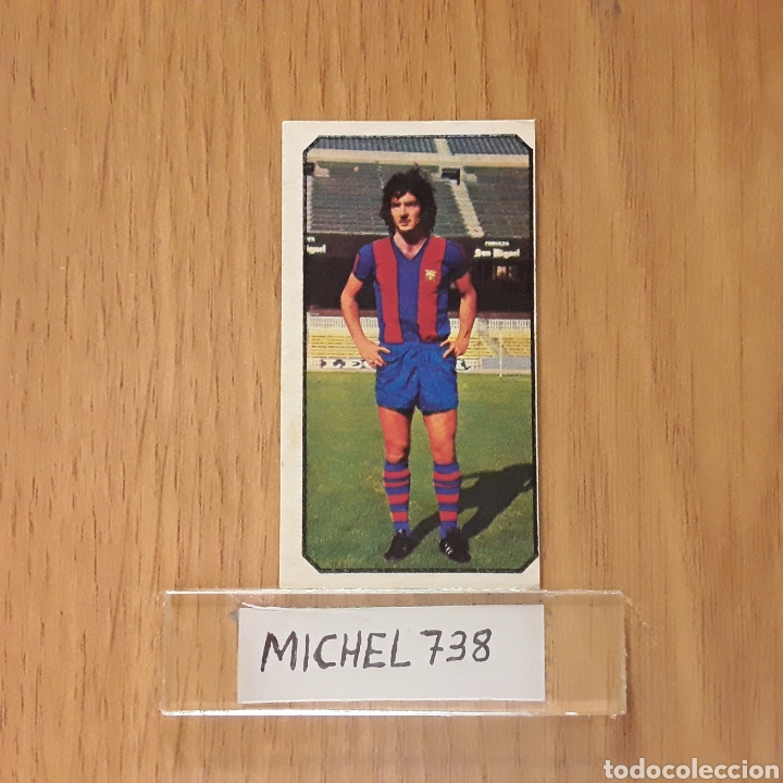 Este liga 77/78...Ramos...Barcelona...Nunca pegado...Sin pegar... segunda mano