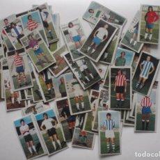 Cromos de Fútbol: LOTE 70 CROMOS DE FUTBOL DIFERENTES Y DESPEGADOS 1975-76. EDICIONES ESTE.. Lote 127950343