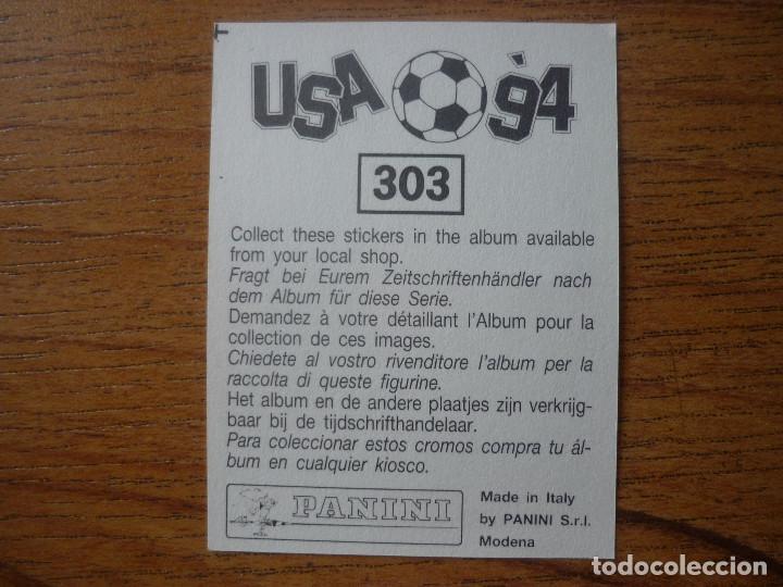 Cromos de Fútbol: CROMO ALBUM USA 94 PANINI Nº 303 ANTONIO BENARRIVO (ITALIA) SIN PEGAR MUNDIAL FUTBOL 1994 WORLD CUP - Foto 2 - 127953271