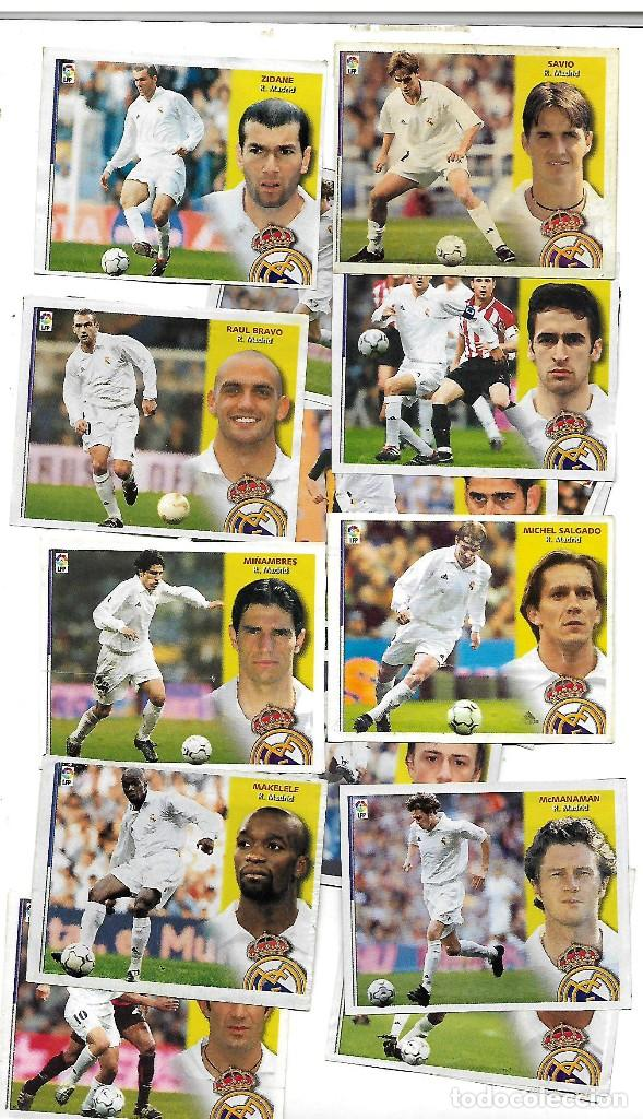 REAL MADRID LIGA 2002-3 LOTE DE 18 CROMOS RECUPERADOS Nº 72 (Coleccionismo Deportivo - Álbumes y Cromos de Deportes - Cromos de Fútbol)