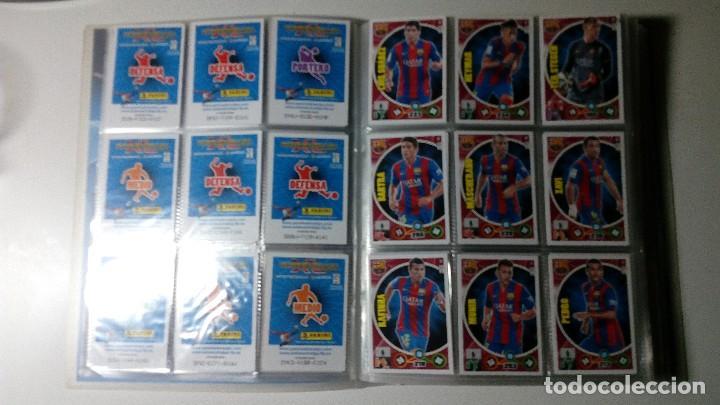 Cromos de Fútbol: COLECCION COMPLETA ADRENALYN LIGA XL BBVA 14/15 PANINI ARCHIVADOR 2014/2015 A2 NO ESTE LEER - Foto 9 - 127978867