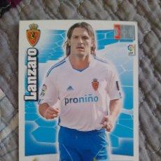 Cromos de Fútbol: LANZARO. REAL ZARAGOZA. ADRENALYN XL 2010 2011. PANINI 10 11. Lote 128010123