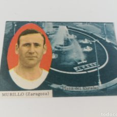 Cromos de Fútbol: MURILLO REAL ZARAGOZA EDITORIAL DISGRA 63-64 ANTIGUO CROMO FUTBOL. Lote 128372336