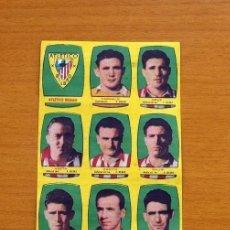 Cromos de Fútbol: ATHLETIC DE BILBAO - EQUIPO COMPLETO - CHOCOLATES FOLGADO 1954-1955, 54-55 - TORRENTE -NUNCA PEGADOS. Lote 128468191