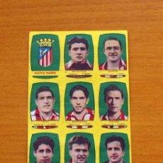 Cromos de Fútbol: ATLÉTICO MADRID - EQUIPO COMPLETO - CHOCOLATES FOLGADO 1954-1955, 54-55 - TORRENTE - NUNCA PEGADOS. Lote 128468511