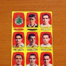 Cromos de Fútbol: RACING DE SANTANDER - EQUIPO COMPLETO - CHOCOLATES FOLGADO 1954-1955, 54-55 -TORRENTE -NUNCA PEGADOS. Lote 128469843