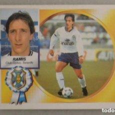 Cromos de Fútbol: CROMO FUTBOL ESTE ALBUM CROMOS 1994/95 NUNCA PEGADO FICHAJE 12 RAMIS TENERIFE. Lote 128469855