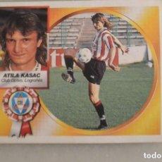 Cromos de Fútbol: CROMO FUTBOL ESTE ALBUM CROMOS 1994/95 COLOCA ATILA KASAC D. LOGROÑES. NUNCA PEGADO.. Lote 128470123