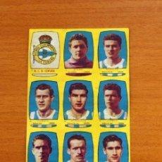 Cromos de Fútbol: DEPORTIVO LA CORUÑA - EQUIPO COMPLETO - CHOCOLATES FOLGADO 1954-1955, 54-55 -TORRENTE -NUNCA PEGADOS. Lote 128470183