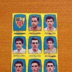 Cromos de Fútbol: SEVILLA - EQUIPO COMPLETO - CHOCOLATES FOLGADO 1954-1955, 54-55 -TORRENTE -NUNCA PEGADOS. Lote 128471407