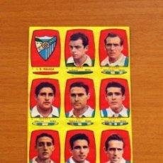 Cromos de Fútbol: MÁLAGA - EQUIPO COMPLETO - CHOCOLATES FOLGADO 1954-1955, 54-55 -TORRENTE -NUNCA PEGADOS. Lote 128472967