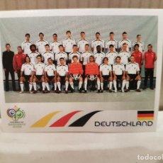 Cromos de Fútbol: CROMO FUTBOL MUNDIAL 2006 GERMANY PANINI SIN PEGAR NUMERO 17 ALINEACCION ALEMANIA VER FOTO. Lote 128483167