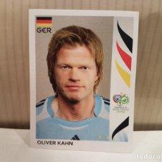 Cromos de Fútbol: CROMO FUTBOL MUNDIAL 2006 GERMANY PANINI SIN PEGAR NUMERO 19 OLIVER KAHN ALEMANIA VER FOTO. Lote 128483283