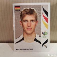 Cromos de Fútbol: CROMO FUTBOL MUNDIAL 2006 GERMANY PANINI SIN PEGAR NUMERO 23 PER MERTESACKER ALEMANIA VER FOTO. Lote 128483503