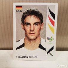 Cromos de Fútbol: CROMO FUTBOL MUNDIAL 2006 GERMANY PANINI SIN PEGAR NUMERO 27 SEBASTIAN DEISLER ALEMANIA VER FOTO. Lote 128483571