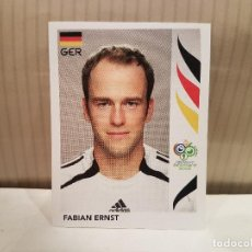 Cromos de Fútbol: CROMO FUTBOL MUNDIAL 2006 GERMANY PANINI SIN PEGAR NUMERO 28 FABIAN ERNST ALEMANIA VER FOTO. Lote 128483615