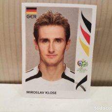 Cromos de Fútbol: CROMO FUTBOL MUNDIAL 2006 GERMANY PANINI SIN PEGAR NUMERO 33 MIROSLAV KLOSE ALEMANIA VER FOTO. Lote 128484027