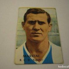 Cromos de Fútbol: LIGA 1968 69 . MARCIAL RCD ESPAÑOL . DISGRA, ED. FHER, SIN PEGAR.. Lote 128780447