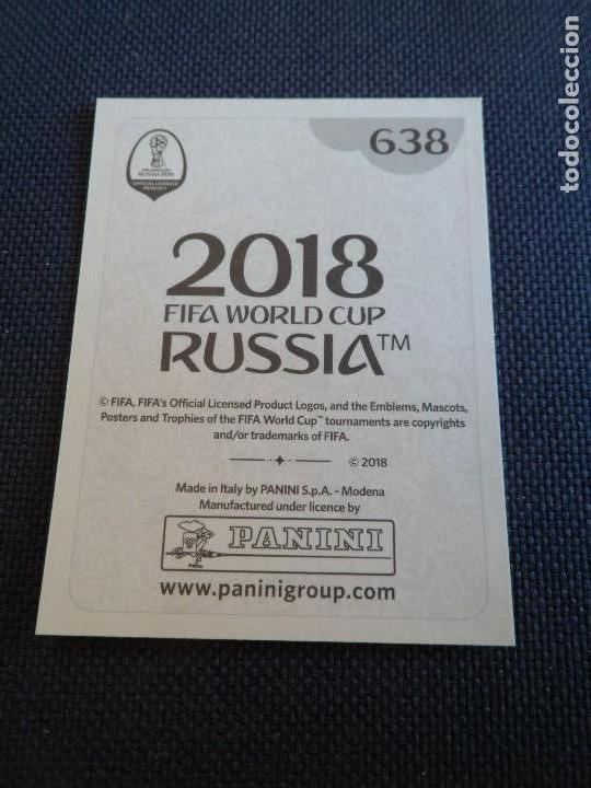 638 Panini WORLD CUP 2018 Rusia-Davinson Sánchez Colombia no