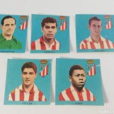 Cromos de Fútbol: ATLETICO DE MADRID FHER LIGA 62-63 1962 1963 CROMOS COLLAR JONES MENDOZA MADINABEITIA ADELARDO. Lote 129010616