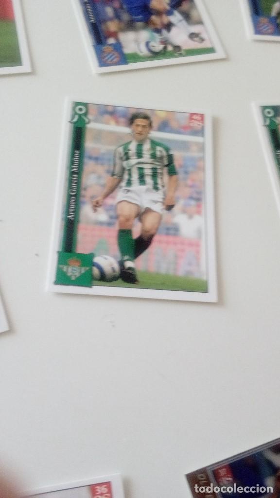 Cromos de Fútbol: CAJ-15 CROMO MUNDICROMO SPORT 2005 2006 05 06 AS LOTE DE 12 CROMOS DE FUTBOL BETIS - Foto 10 - 129162655