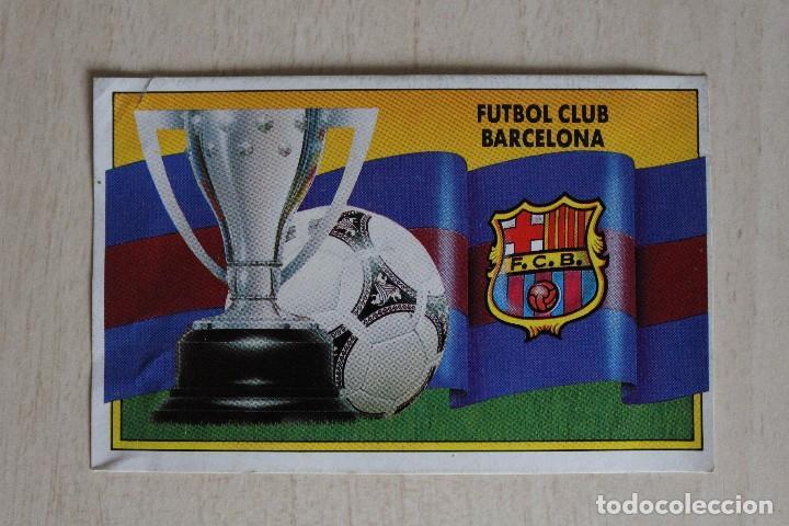 ESTE 90 91 FC BARCELONA LOTE DE 14 CROMOS (Coleccionismo Deportivo - Álbumes y Cromos de Deportes - Cromos de Fútbol)