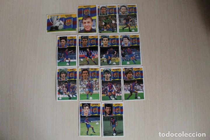 Cromos de Fútbol: ESTE 90 91 FC BARCELONA LOTE DE 14 CROMOS - Foto 2 - 129234083