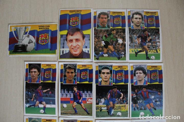 Cromos de Fútbol: ESTE 90 91 FC BARCELONA LOTE DE 14 CROMOS - Foto 3 - 129234083