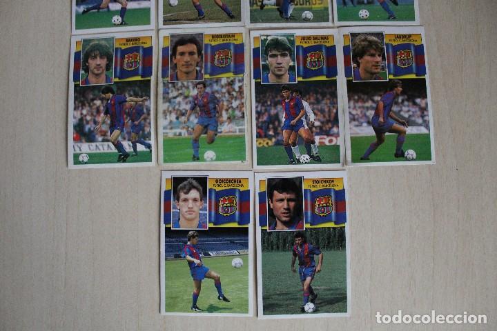 Cromos de Fútbol: ESTE 90 91 FC BARCELONA LOTE DE 14 CROMOS - Foto 4 - 129234083