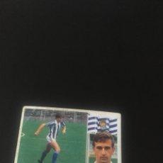 Cromos de Fútbol: ESTE SIN PEGAR 86 87 1986 1987 REAL SOCIEDAD BENGOECHEA COLOCA. Lote 129336883