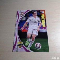 Cromos de Fútbol: MEGACRACKS 2015 2016 15 16 PANINI. ARBELOA Nº 330 (REAL MADRID) CROMO LIGA FÚTBOL MEGA CRACKS MGK. Lote 155712513