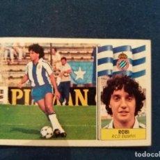 Cromos de Fútbol: 86/87 ESTE. COLOCA ESPAÑOL ROBI POCA SEÑAL DE NUNCA PEGADO . Lote 129751915