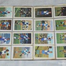 Cromos de Fútbol: HOJA COMPLETA - 32 CROMOS - CAMPEONATO DE LIGA 71 72 - DISGRA - CD SABADELL Y CD MALAGA - ENVÍO 24H. Lote 130039219