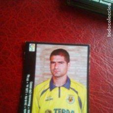 Cromos de Fútbol: MEDINA VILLARREAL 00 01 ED PANINI LIGA 2000 2001 FUTBOL CROMO - SIN PEGAR 327. Lote 130264870