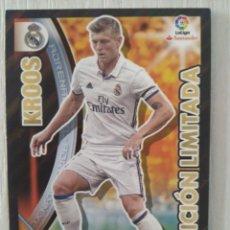 Cromos de Fútbol: ADRENALYN 2016 2017 KROOS (REAL MADRID) EDICION LIMITADA 16 17. Lote 152088728