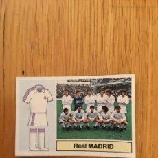 Cromos de Fútbol: ESTE LIGA 82-83 ALINEACION REAL MADRID NUNCA PEGADO. Lote 130454858