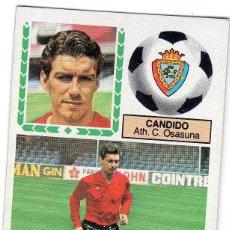 Cromos de Fútbol: LIGA 83/84. ULTIMOS FICHAJES. Nº 17. CANDIDO. ATH. C. OSASUNA. EDICIONES ESTE. NUEVO.. Lote 130474594