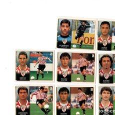 Cromos de Fútbol: LIGA 98/99. LOTE DE 8 CROMOS. ATHLETIC CLUB. COLECCIONES ESTE. NUEVOS.. Lote 130485670