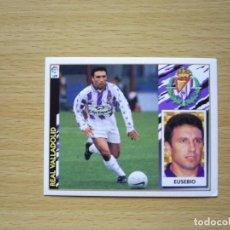Cromos de Fútbol - FICHAJE 7 EUSEBIO REAL VALLADOLID ESTE 1997 1998 LIGA 97 98 CROMO FUTBOL SIN PEGAR NUNCA PEGADO - 130544370