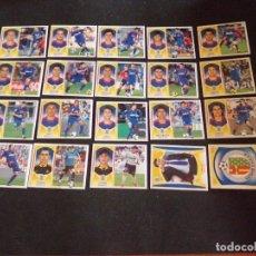 Cromos de Fútbol: LOTE DE 20 CROMOS DEL GETAFE, LIGA ESTE 09-10 (2009-2010). Lote 130721914