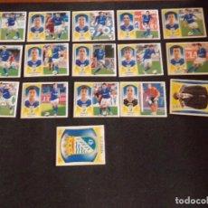 Cromos de Fútbol: LOTE DE 16 CROMOS DEL XEREZ, LIGA ESTE 09-10 (2009-2010). Lote 130722144