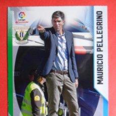 Cromos de Fútbol: MEGACRACKS 2018 2019 - 319 MAURICIO PELLEGRINO - ENTRENADOR - LEGANES - 18 19 - PANINI. Lote 137273130