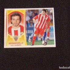 Cromos de Fútbol: COLOCA 8B BERNARDELLO, ALMERIA, LIGA ESTE 09-10 (2009-2010). Lote 131106020
